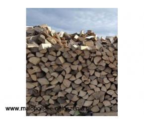 Drewno opałowe Buk Jesion Czereśnia